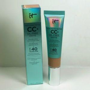 It Cosmetics CC+ Matte Pore Minimize Serum RICH